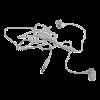 Проводные наушники Mi Basic (Серебристые)(3)